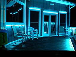 LEDJump Waterproof 300LEDs 16.4Ft RGB SMD5050 Color Changing LED Taped Flexible Strip 44 Button remote Controller with 5A Power Supply Complete Set (cuttable and Linkable), UL Certified…