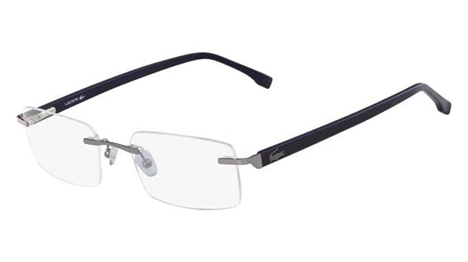 Lacoste L2236 047 54, Monturas de Gafas Unisex-niños, Steel