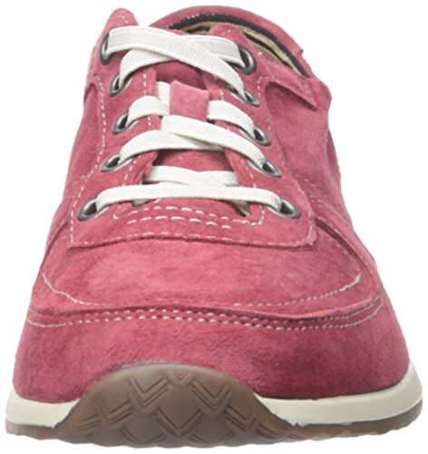 Chush Chush Femmes Chazy Dayo Sneaker Daim Rouge Foncé