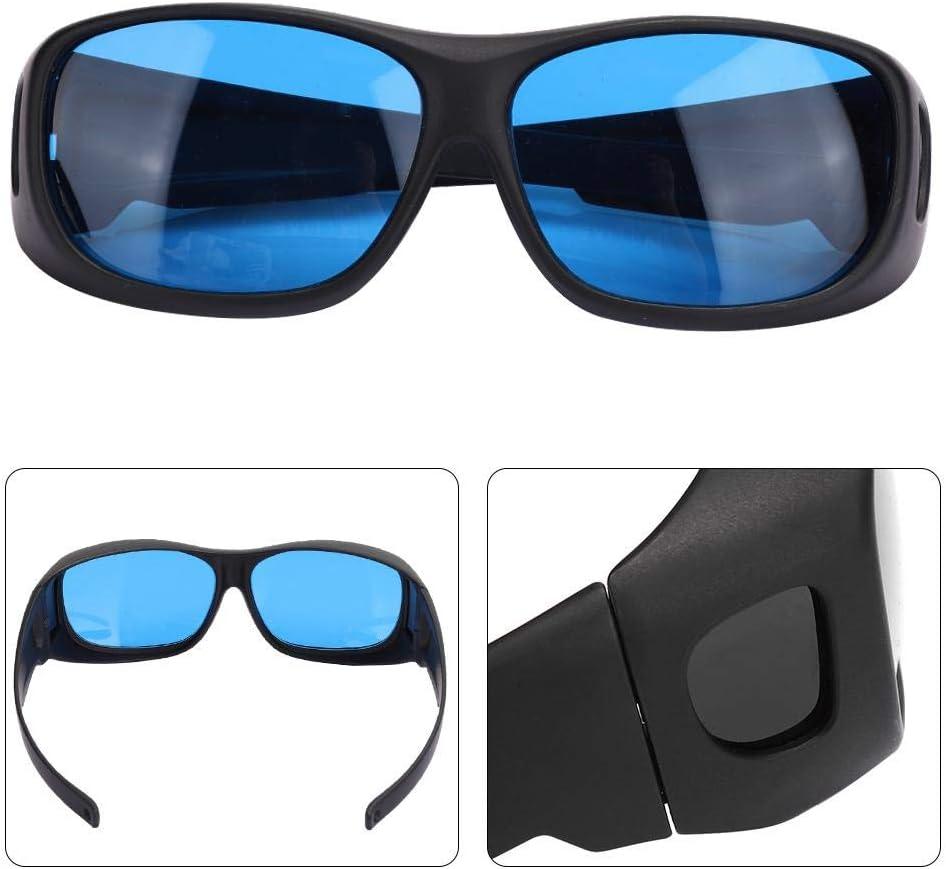 Grow Light Schutzbrillen UVB- HPS LED Grow Room Sicherheitsschutzbrillen mit UVA- UVC-Blockierung und Hydroponics LED Growroom-Brillen