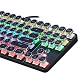Amaping Retro Mechanical Keyboard Steampunk Style