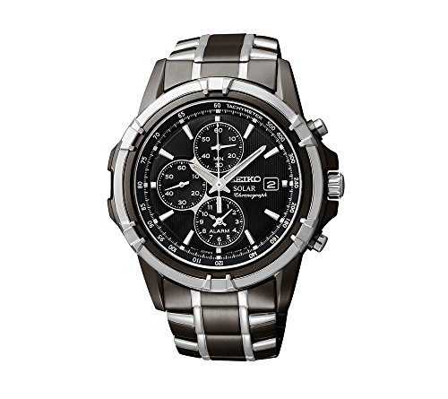 Seiko-Mens-Two-Tone-Chronograph-Solar-Dress-Watch