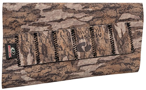 Neoprene Buttstock Shell Holders (Mossy Oak Neoprene Buttstock Rifle Shell Holder, Mossy Oak Bottomland, One Size)