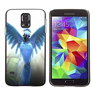 LECELL--Funda protectora / Cubierta / Piel For Samsung Galaxy S5 -- Pájaro del ángel --