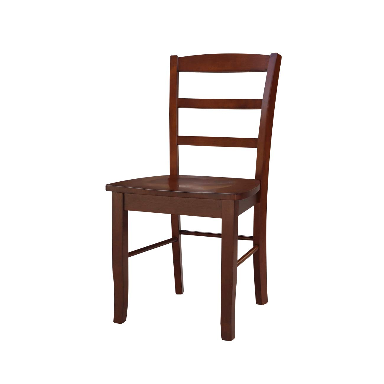International Concepts Madrid Ladder Back Chair, Espresso