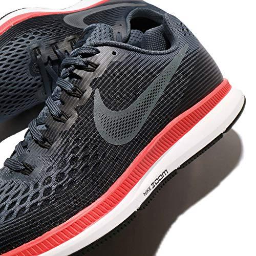 Nike Women's Air Zoom Pegasus 34 Running Shoes-Blue Fox/Black-5 by Nike (Image #7)