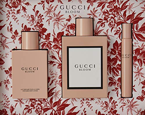 f7551a8ba SHOPUS | Gucci 3 Piece Bloom Eau de Parfum Spray Gift Set for Women