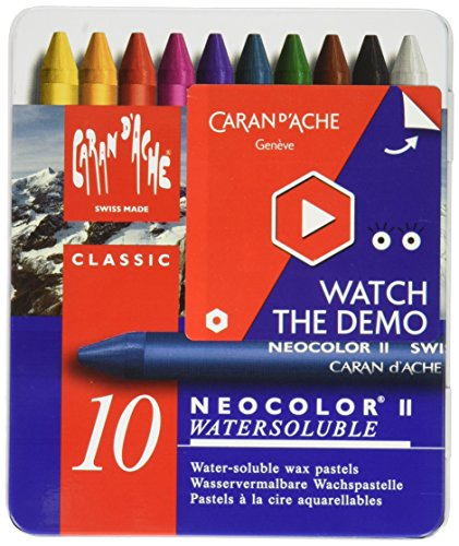 CREATIVE ART MATERIALS 7500-310 Neocolor Ii Crayon Set (7500 Arts & Crafts)