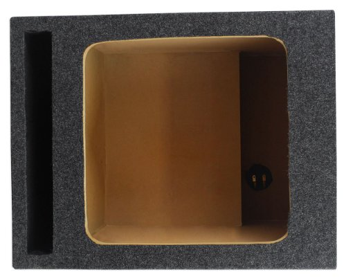"Rockville RSVK12 Single 12"" Vented Square Subwoofer Enclosure Designed For 12"