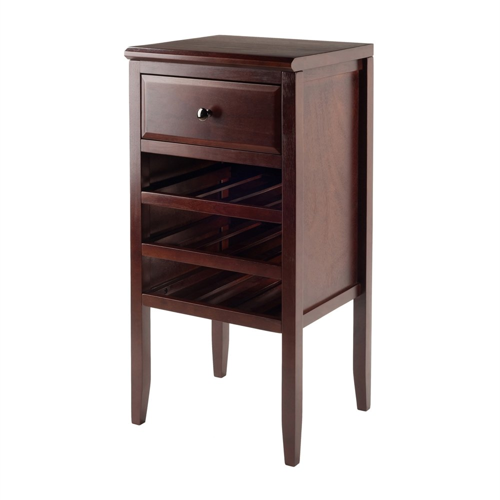 Winsome Orleans Modular Buffet with Drawer & 12-Bottle Wine Rack