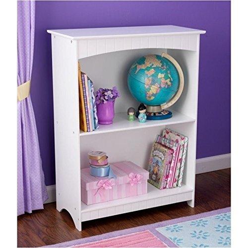 Shelf Bookcase Bookshelf (KidKraft Nantucket 2-shelf)