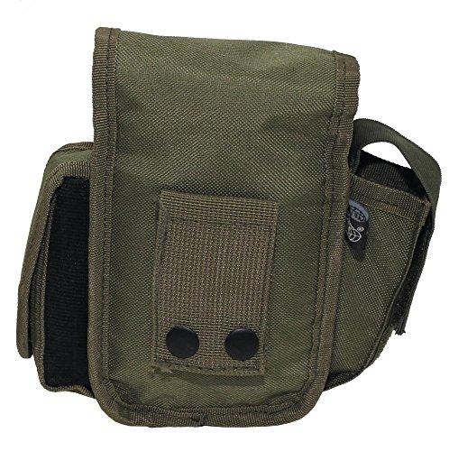 Bolso de cinturón con 3 Compartimentos - OLIVA