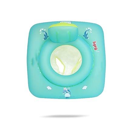 TXDY Anillo de Flotador de natación para bebés, Asiento Cuadrado Anillo de natación Inflable de