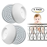 Baby Gate Wall Protector 4 Pack for Baby Gates,Protect Wall...