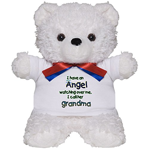 CafePress - Angel Named Grandma - Teddy Bear, Plush Stuffed Animal ()