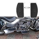 Artudatech Front/Rear Passenger Floorboard Foot Pegs For Honda VTX 1800 1300 Suzuki VL800 VL400 C50