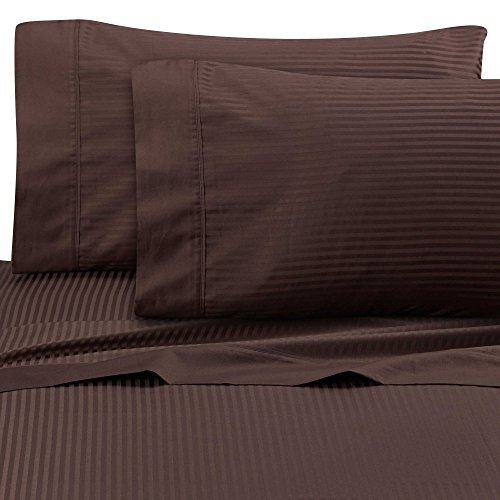 Ultra SOFT Sateen Pima Cotton 525 thread count (TWIN/CHOCOLATE)