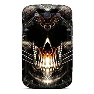 Scratch Resistant Hard Phone Cover For Samsung Galaxy S3 With Support Your Personal Customized High Resolution Avenged Sevenfold Image AlissaDubois