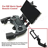 DJI Mavic/Spark Remote Control Bracket For 50-85mm Front Mobile Phones 3D Printed Carrier Holder Mount Fixed Clip Accessories