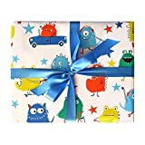 Sea Urchin Studio Wrapping Paper Monsters Gift Wrap - wrapping paper for boys and girls