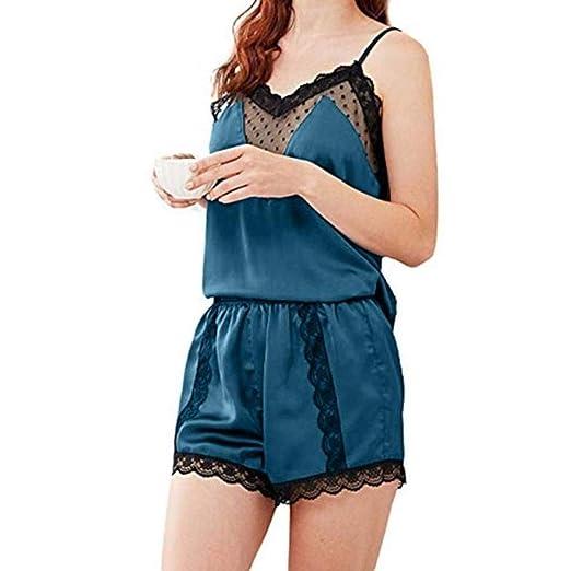 Pijama de Seda de Mujer de Raso Setnd Sudadera de Hombre Chándal ...