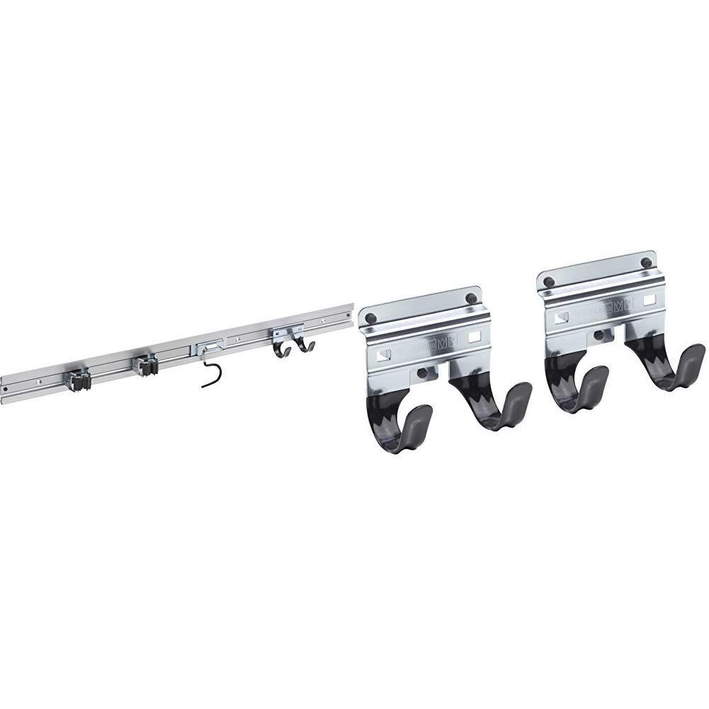 5er Gerätehalter Geräteleiste Wandhalterung Gerätehalterung Besenhalter Wand GB