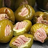 Stuffed Cherry Peppers with Rolled Italian Meats: 8 Oz. Jar (Hot)