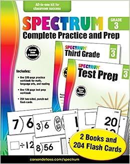 Spectrum Complete Practice And Prep Grade 3 Spectrum Carson