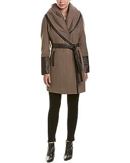 Amazon.com: Via Spiga Kate - Abrigo de lana para mujer con ...