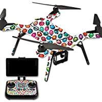 Skin For 3DR Solo Drone – Color Bugs | MightySkins Protective, Durable, and Unique Vinyl Decal wrap cover | Easy To Apply, Remove, and Change Styles | Made in the USA