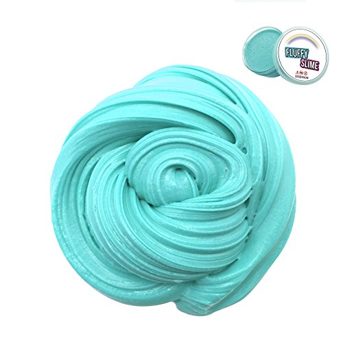 (ESSENSON Fluffy Slime - Jumbo Floam Slime Sludge Toy Satisfying Slime Stress Relief Toy Kids Adults Soft Stretchy Non-sticky 6)