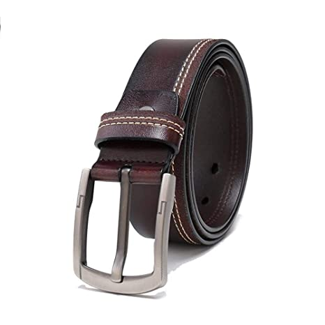 Amazon Com Luziang Pin Buckle Belt Fashion Mens Belt Perfect For