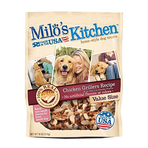 Milo's Kitchen Big Heart Pet Treats Grilled Chicken, 18 oz