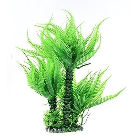 29x15cm DealMux acuario de plástico pecera artificial de la planta del ornamento adorno: Amazon.es: Productos para mascotas