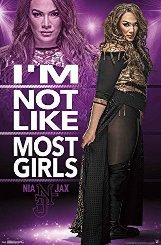 Trends International WWE - Nia Jax 18 Wall Poster, 22.375