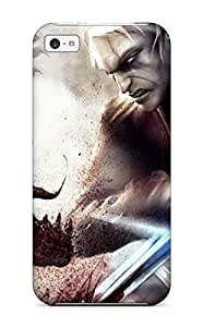 Tpu Jorge Johnson Shockproof Scratcheproof The Witcher Hard Case Cover For Iphone 5c