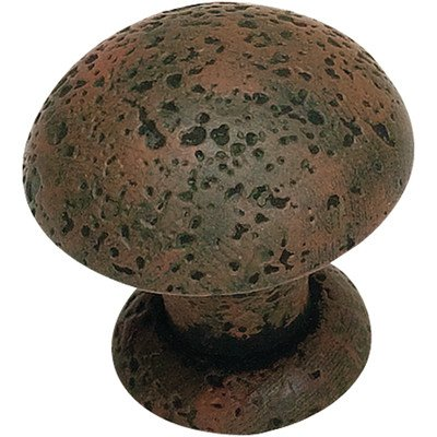 Olde World Mushroom Knob Finish: Rust, Size: 1.37'' H x 1.37'' W x 1.31'' D by Atlas Homewares