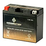 YT12B-BS High Performance - Maintenance Free - Sealed AGM Motorcycle Battery