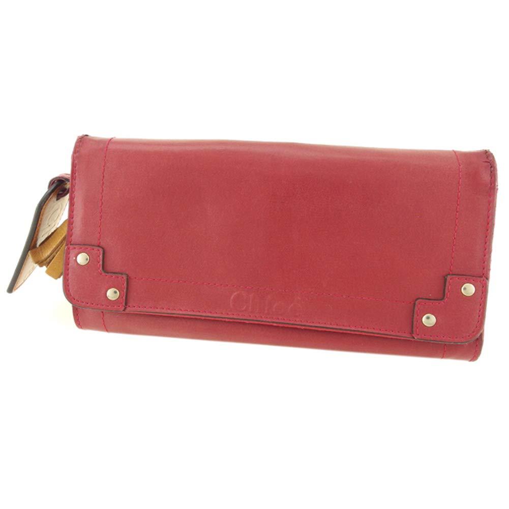 [クロエ] Chloe 長財布 ファスナー付き 財布 レディース エデン 中古 F1482   B07NRZSTPK