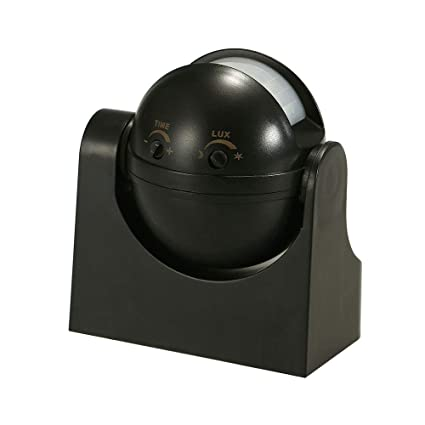 Outdoor 180° Degree Security PIR Motion Movement Detector Switch 12M Black//White