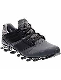 Adidas Men's Spingblade Solyce Running Shoes Grey/Core Black/Collegiate Royal D(M) US