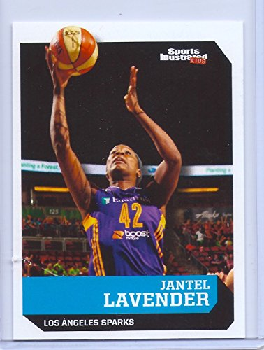 Los Angeles Sparks Wnba - JANTEL LAVENDER LOS ANGELES SPARKS 2016 SPORTS ILLUSTRATED CARD #594! 1 OF 9 !