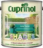 Cuprinol GSWT25L Garden Shades Wild Thyme 2.5 Litre