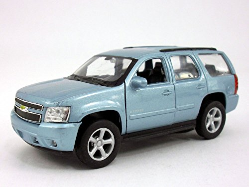 4.5 Inch Chevy Tahoe Scale Diecast Metal Model - Blue