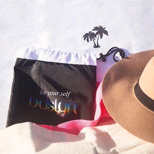 Microfiber Beach Towel - towel bag