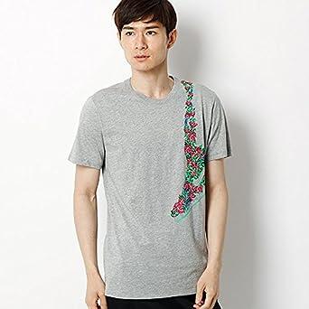 7426ab4ee3e7b Amazon | ナイキ(nike) メンズTシャツ(ナイキ フローラルスニーカー Tシャツ)【063/S】 | Tシャツ・カットソー 通販