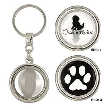 Amazon.com: Elegante Corazón huella de perro Cairn Terriers ...