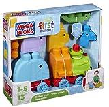 Mega Bloks First Builders Animal Safari Train Boy Review and Comparison