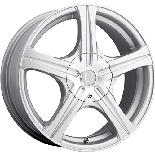 Ultra Slalom 15 Silver Wheel / Rim 5x110 & 5x4.5 with a 45mm Offset and a 73 Hub Bore. Partnumber 403-5611+45S (2009 Scion Xb Rims compare prices)