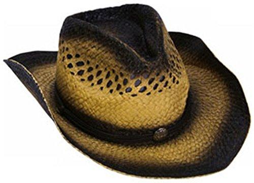 Woven Cowboy Cowgirl Dual Tone Dark